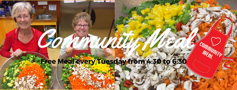 Free Community Meal Every Tuesday
