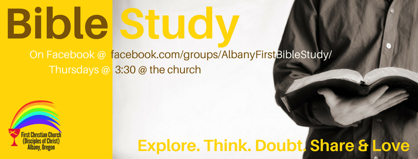 Join us for Bible Study: Online or In-Person