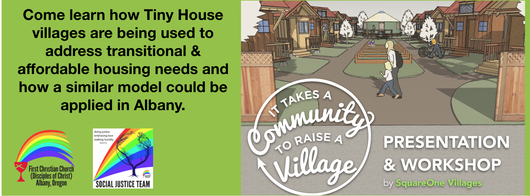 It Takes a Community to Raise a Village